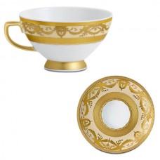 Фарфор Imperial Gold - Кофейный набор Дополнение Кремовый (12 Единиц) от Цептер