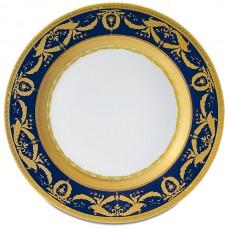 Фарфор Imperial Gold - Подставки под тарелки 32 см Кобальт (6 Единиц) от Цептер