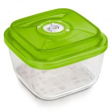 Стеклянный контейнер 19x19x9,5 см 2,2л зеленый от Цептер