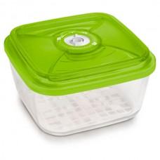 Стеклянный контейнер 22x22x10,5 см 3,6л зеленый от Цептер