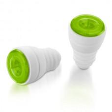 Пробки для бутылок 2 шт Ø1,7-2 см зеленые от Цептер