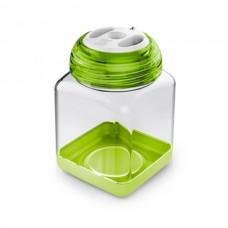 Ёмкость для специй 8x8x12 см 0,45л зелёная от Цептер