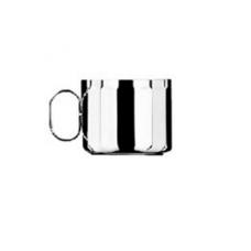 Набор Конте из 6 шт чашек для капучино - посеребренный