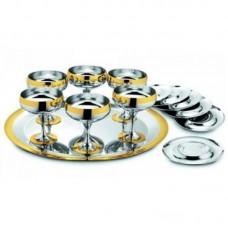 Барон - Набор для шампанского с золотым узором LS-160-A-DG
