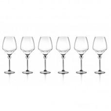 Волшебная Гармония - бокалы для красного вина с металлическими ножками 6шт. LS-023-2