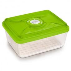 Стеклянный контейнер 26x20x9,5 см 3,8л зеленый