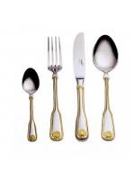 Венус - Набор столовых приборов с золотым декором LB-200-DG