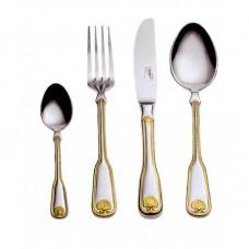 Венус - Набор столовых приборов с золотым декором LB-206-DG