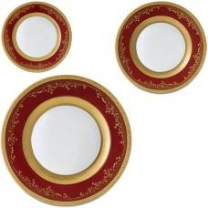 Фарфор Royal Gold - Набор для Ужина Дополнение Бордо (18 Единиц) от Цептер