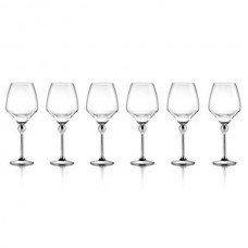 Бокалы для красного вина с металлическими ножками - 6 ед. от Цептер