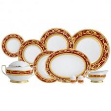 Фарфор Imperial Gold - Набор для Ужина 6 Персон Бордо (25 Единиц) от Цептер