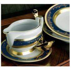Роял Голд Кобальт - кофейный сервиз на 6 персон (15 пр.) LPR6-KACO - Royal Gold