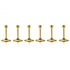 Металлические ножки с золотым декором - 6 ед. от Цептер