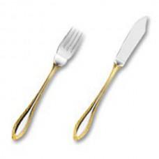 Фиш сет Сенатор декорированный золотом на 6 персон (12 предметов) от Цептер