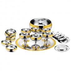 Набор Барон - с серебряным покрытием и золотым декором от Цептер