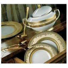 Роял Голд Крем - полный сервиз на 12 персон (70 пр.) LPR2-CR - Royal Gold