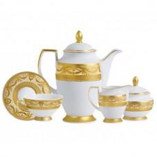 Фарфор Imperial Gold - Кофейный Набор 12 Персон Кремовый (27 Единиц) от Цептер