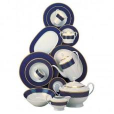 Кобальт Роял -комплект на 6 персон (столовый + кофейный) LP-806-G - Кобальт Роял