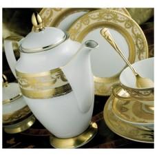 Империал Голд Крем - столовый сервиз на 12 персон (43 пр.) LPI2-TACR - Imperial Gold