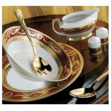 Империал Голд Бордо - кофейный сервиз на 12 персон (27 пр.) LPI2-KABR - Imperial Gold