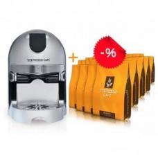 Кофейный аппарат + 1 упаковка капсул (30шт) Single Zespresso ZES-300