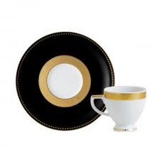 Фарфор Black & White - Чашки Еspresso Черно-Белые ( 12 Единиц ) от Цептер