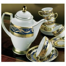 Империал Голд Кобальт - дополнение к кофейному сервизу (12 пр.) LPI0-KACO - Imperial Gold