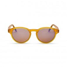 Фуллереновые очки Tesla Hyperlight Eyewear, зерк, Model 107, Желтые