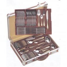 Чемодан алюминиевый для столовых приборов (без подставки) LB-712-KK-BRN