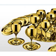 Набор бокалов для вина Принц - позолоченный от Цептер