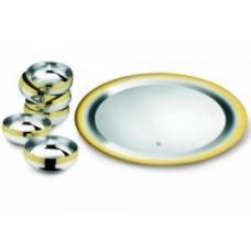 Десертный набор Барон - с золотым декором от Цептер