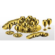 Набор бокалов Принц - позолоченный от Цептер